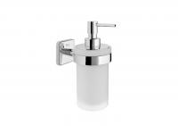 Настенный дозатор для мыла стеклянный Roca Victoria, A816678001