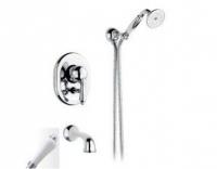 Смеситель Nicolazzi Classico Monokomandi 3400CR76 для ванны, хром/Mont Blanc