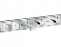 Смеситель для ванны и душа Hansgrohe RainSelect 15359000, 2 потребителя, термостатический, хром
