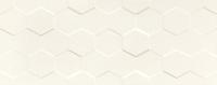 Настенная плитка Elementary white hex STR 748x298 / 10mm