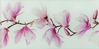 Настенный стеклянный декор Tango flower 448 x 223 mm