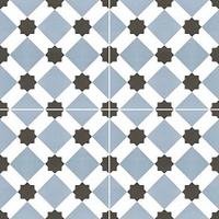 Напольная плитка Howard blue 450x450 (225x225) mm