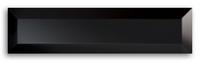 Настенная плитка Piccadilly Black 2 598x148 / 12,8mm