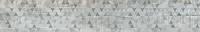 Керамический гранит 1200x295 Декор-2 Вуд Эго Светло -серый SR