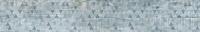 Керамический гранит 1200x295 Декор-2 Вуд Эго Серо-голубой SR