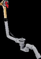 Скрытая часть излива Hansgrohe на ванну с набором для слива и перелива для стандартных ванн, 58125180