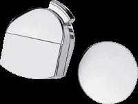 Внешняя часть излива Hansgrohe на ванну с набором для слива и перелива Plus, 58128000