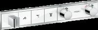 Термостат Hansgrohe, скрытого монтажа, для 3 потребителей, 15356400