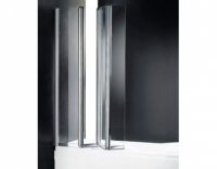 Шторка на ванну Cezares Trio V3 90/140 C Cr L