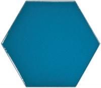 Настенная плитка Hexagono Liso Electric Blue 107 x 124 mm