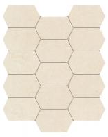 Настенная мозаика Lemon Stone white 298x250 / 10mm
