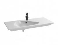 Раковина мебельная Jacob Delafon Nouvelle Vague EXAQ112-Z-00, накладная, белый глянцевый, 101 х 51 см