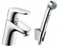 Смеситель Hansgrohe Focus E2 31926000 для раковины с гигиеническим душем