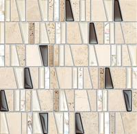 Настенная мозаика Drops stone beige 300 x 300 mm