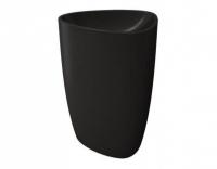 Раковина Bocchi Etna моноблок 1075-004-0125, черная матовая