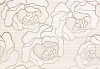 Настенный декор Kiribati Flower szara 360 x 250 mm