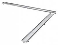 Решетка Tece TECEdrainline Plate 6 115 70 150х150 см под плитку угловая