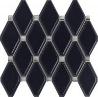 Настенная мозаика Abisso navy 298x270 / 11,5mm