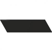 Настенная плитка Chevron Wall Black Mat R 52 x 186 mm