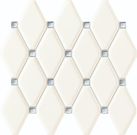 Настенная мозаика Abisso white 298x270 / 11,5mm