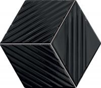 Настенная мозаика Colour black 226 x 198 mm