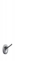 Крючок одинарный AXOR Starck, 40837000