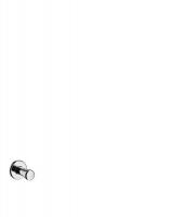 Крючок одинарный AXOR Uno, 41537000