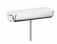 Смеситель для душа Hansgrohe Ecostat Select, термостатический, белый