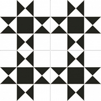 Напольная плитка Cardiff white 450x450 (225x225) mm