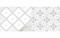 Calacatta Patchwork B bianco decor 60x25, Polcolorit
