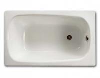 Чугунная ванна Roca Continental 211507001, 100 x 70 см