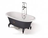 Чугунная ванна Roca Newcast Grey 233650000, 170 x 85 x h42 см