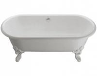 Чугунная ванна Jacob Delafon Cleo E2901-00, 175 х 80 см , без ручек