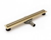 Душевой лоток REA PRO SLIM GOLD 80 см.