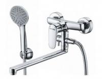 Смеситель для ванны и душа WasserKRAFT Vils 5602L с гарнитуром