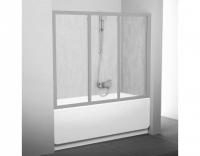 Шторка на ванну Ravak AVDP3-150 Rain, профиль сатин