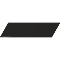 Настенная плитка Chevron Wall Black Mat L 52 x 186 mm
