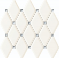 Настенная мозаика Abisso white 298x270 / 11,5mm
