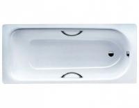 Стальная ванна Kaldewei Saniform Plus Star мод. 331, 150 х 70 х 41 см, с отверстиями для ручек