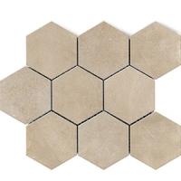 Напольная мозаика Factor Beige Hex 300x300 mm