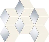 Настенная мозаика Senza white hex 289 x 221 mm