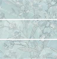 Настенный декор Spring 400 x 1200 mm