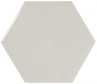 Настенная плитка Hexagono Liso Light Grey 107 x 124 mm