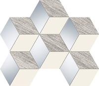 Настенная мозаика Senza grey hex 289 x 221 mm