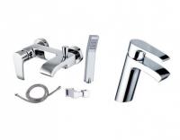 Промо-набор для раковины, ванны и душа 98197 + 98199