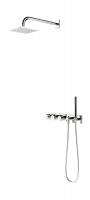 Внешняя часть смесителя с rain shower Oras Signa, 2273