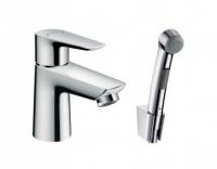 Смеситель Hansgrohe Talis E 71729000 для раковины с гигиеническим душем