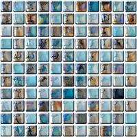 Настенная мозаика 14 mm, A-MGL14-XX-003