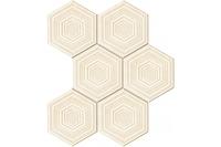 Настенная мозаика Solei ecru 221x298 mm
