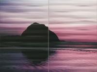 Настенный декор Maxima violet 1 898x673 / 8mm